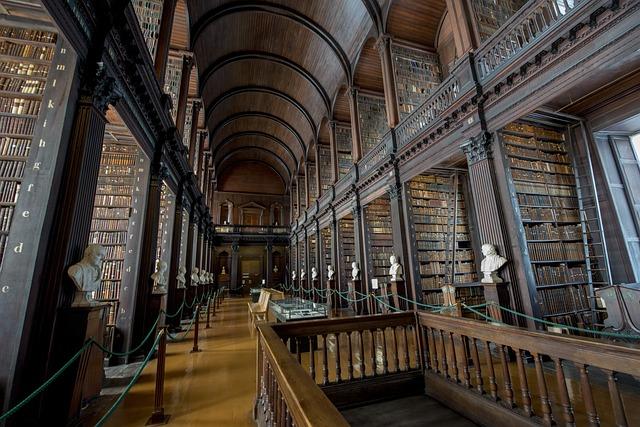 Interior da Trinity College