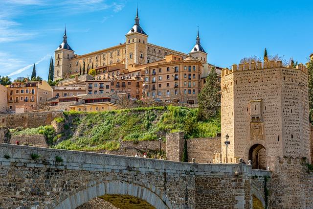 Toledo roteiro de carro pela espanha